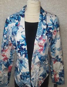 New Women's Mossimo multicolor Blazer Medium